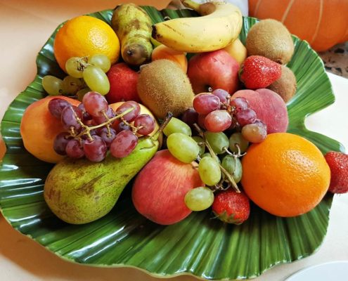 Fresh seasonal fruits