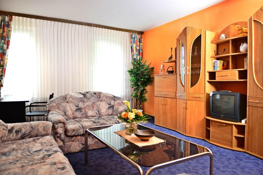 Große Ferienwohnung Wohnzimmer