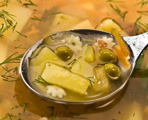 Aus dem Suppentopf